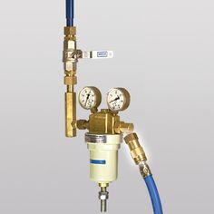 Einhand Schnellkupplungen (Gas-Schlauchkupplungen) für hohe Durchflusswerte - IBEDA Sicherheitsgeräte und Gastechnik