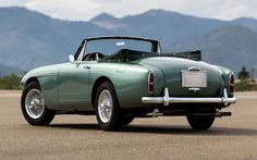 Aston Martin DB2/4 Drophead Coupe by Tickford (1957)
