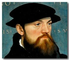 Hans Holbein The Younger (German, 1497/98-1543) - Roelof de Vos van Steenwijk (1504-1564).  1541.