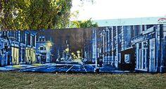 H-A-L-E.COM #30DaysOfSummer Day 14; Wynwood Walls - Logan Hicks, Urban Art, Street and Graffiti Art, Miami, Brooklyn, New York #HALE