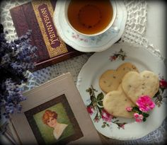 Kimberly's Cup: Anne of Green Gables Tea Party Lavender Shortbread/Poppyseed Shortbread Recipe
