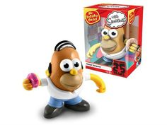 Simpsons 25th Anniversary Homer Simpson Mr. Potato Head - Preorder $17.99