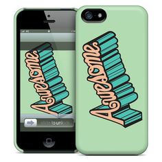Awesome iPhone Case, $25, now featured on Fab.