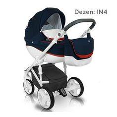 Bexa B4X IDEAL NEW kolica za bebe, set 2u1, dezen IN4