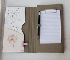 Papier-Liebelei: Fächermappe