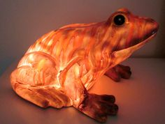 One of a Kind Frog Accent Lamp Night Light
