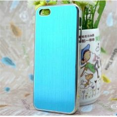 This luxury metal case is specially designed for the latest Apple iPhone 5, gives your iPhone great protection, and makes it more fashionable.     http://www.bestcasemall.com/bling-brushed-metal-back-case-for-iphone-5-p-703.html