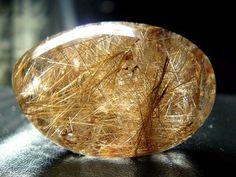 Рутиловый кварц, кварц-волосатик или Волосы Венеры.