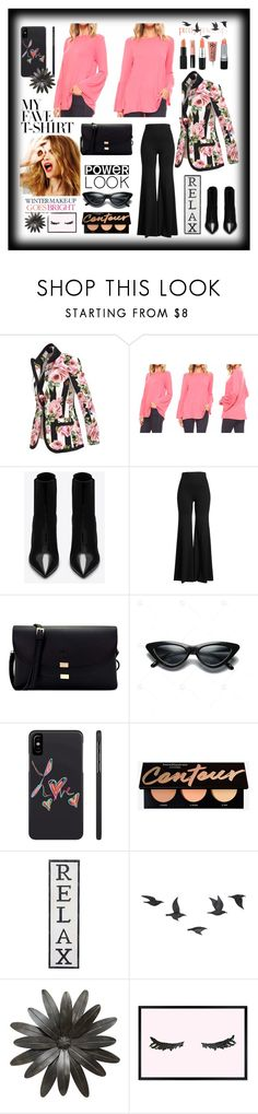 """#MyFaveTshirt"" by explorer-14673103603 on Polyvore featuring Dolce&Gabbana, Yves Saint Laurent, Rosetta Getty, Celestine, Jayson Home, Oliver Gal Artist Co. and MyFaveTshirt"
