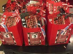 Goody bags for Cheerleaders