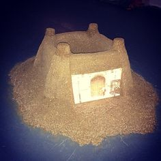 Hulhul Liu, MA Fine Art, #summershows13 #art Houses of Parliament sandcastle Chelsea College of Art