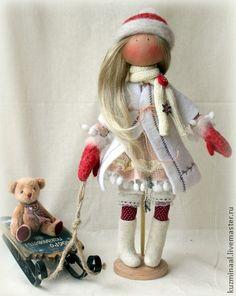 Человечки ручной работы. Ярмарка Мастеров - ручная работа Текстильная кукла HENRIETTA. Handmade.