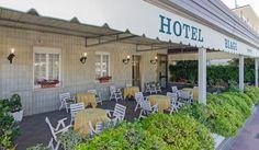 La veranda sul mare e sulla passeggiata di Lido di Camaiore Hotel Biagi Lido di Camaiore