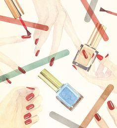 Fashion Accessories - marcel george illustration