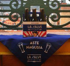 LA SALVE la cerveza del txupin promueve más de 100 actos culturales durante Aste Nagusia