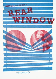 Movie Poster: Rear Window by Abbas Mushtaq