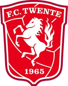 FC Twente of Holland crest. Soccer Logo, Sports Logo, Football Soccer, Soccer Teams, Radler Bier, Logo Horse, Jersey Atletico Madrid, Car Bumper Stickers, Stickers