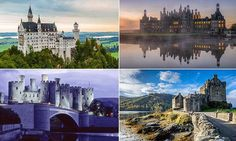 Revealing the world's most spectacular castles you can visit