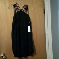 Dress Black dress A Peach Dresses Strapless