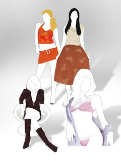 Ilustraciones para catálogo Andrea Gatti.