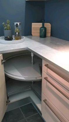 Kitchen Cupboard Designs, Kitchen Cabinet Layout, Kitchen Pantry Design, Modern Kitchen Cabinets, Modern Kitchen Design, Home Decor Kitchen, Interior Design Kitchen, Modern Kichen, Cool Kitchen Gadgets