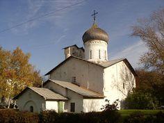 Церковь Николы со Усохи. Псков. ~16 в.