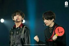 #BTS JAPAN OFFICIAL FANMEETING VOL 4 happy ever after #V AND #SUGA ~❤✌
