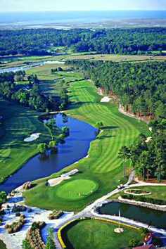 The Pearl Golf Course is tucked quietly on the banks of the Brunswick coastal marshland in the heart of Calabash, North Carolina, and just a short drive from Myrtle Beach, South Carolina