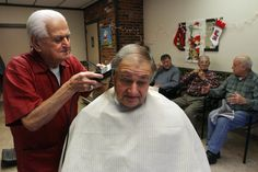 90 year old barber retires after 68 years...