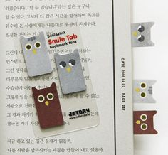 Owl Index Sticky Note