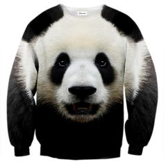 There is no people who don't love Panda, even WWF uses one in their logo Emotikon heart  Don't let Panda Jumper lie in our warehouse, adopt one here!:  www.bittersweetclth.com