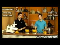 Test of two dual gear juicers part 1