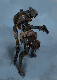 bounty hunter bot by *Asahisuperdry on deviantART