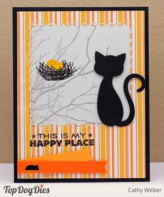 Cool Cats and Scalloped A2 Frame and Mat Die Set