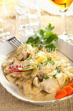Filets de poisson aux champignons, la recette facile et rapide