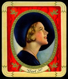German Cigarette Card - Gert P