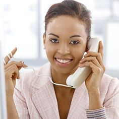 """""""Stand up and smile!"""" Just one of many tips for acing a telephone interview. A telephone interview is just as important as the in-person interview, so it is important for you to prepare. #interviews #jobs #telephone"""