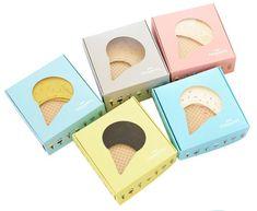 Ice creams here, invisible warm colored socks
