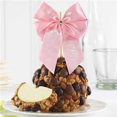 Chocolate Peanut Butter Almond Sweet Spring Jumbo Caramel Apple Gift