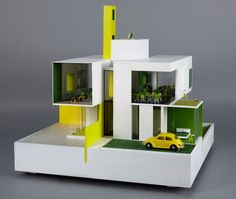 Architectural toys: A Dolls' House. 20 of the world's best architects and designers build a dolls' house for KIDS Dollhouse Design, Modern Dollhouse, Dollhouse Ideas, Famous Architects, Architect House, Miniature Houses, Contemporary Architecture, Architecture Models, Innovative Architecture