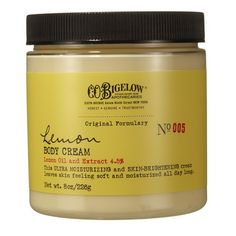 Lemon Body Cream!  I love lemon!