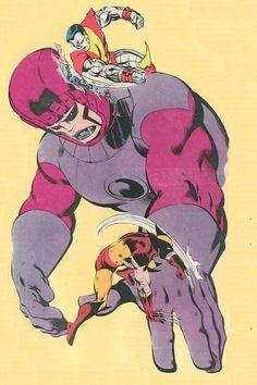 Unpublished X-Men from Marvel Age #16 (1984) by John Byrne