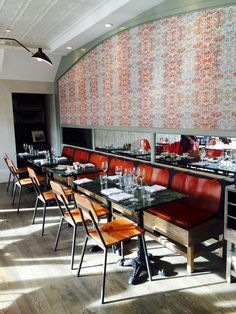 Is Calgary's Pigeonhole Really the Best Restaurant in Canada? Calgary Restaurants, Great Restaurants, Wine Recipes, Yummy Food, Good Things, Traditional, Modern, Table, Furniture
