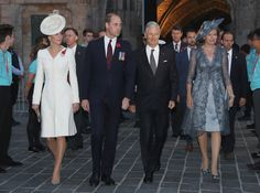 Catherine, Duchess of Cambridge, Prince William, Duke of Cambridge, King Philippe of Belgium and Queen Mathilde of Belgium visit Market Square Ypres for an event that will tell the story of the four years of war on the Salient on July 30, 2017 in Ypres, Belgium. The commemorations mark the centenary of Passchendaele - The Third Battle of Ypres.
