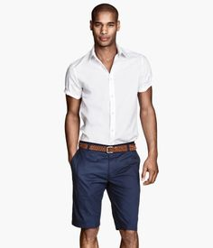 Blue Chino Shorts $19.95