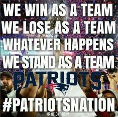 Stay True To The Red White & Blue. #Patriotsnation