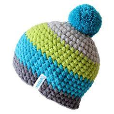 Motánky: Co uháčkovat chlapovi Crochet Ripple, Crochet Stitches, Crochet Baby, Knit Crochet, Crochet Beanie Hat, Knitted Hats, Baby Knitting Patterns, Crochet Patterns, Crochet Hats For Boys