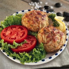 If you like Maryland crab cakes you will love this classic fish recipe! #FishFriday