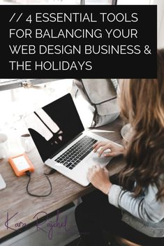 Balance your web design business and the busy holiday season with these tips! By using the right tools and powerful automation you can spend more time with your loved ones this holiday season while your business works without you! Work From Home Jobs, Make Money From Home, Way To Make Money, Wordpress Website Design, Wordpress Org, Portfolio Website Design, Productivity Hacks, Web Design Tips, Design Ideas