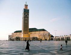 Casablanca  Hassan II moskee